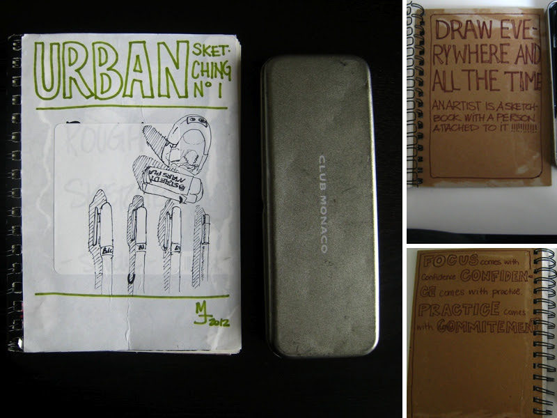 MJ Sketchbook | Urban Sketching