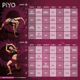 started  piyo rotation