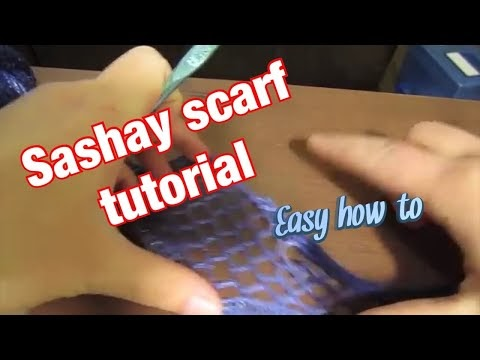 Livin Looney How To Make A Sashay Scarf