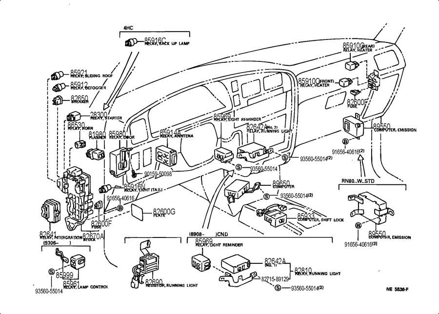 1996 Toyota Camry Wiring Diagram Lights Full Hd Version Diagram Lights Tawndiagram Radd Fr