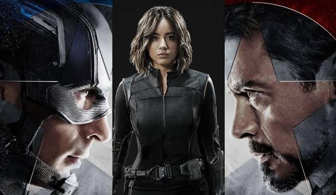 Agenst of SHIELD Captain America Civil War