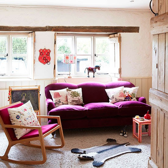 Play room | Oxfordshire modern country house | House tour | PHOTO GALLERY | Country Homes and Interiors | Housetohome.co.uk