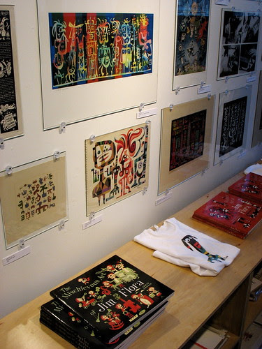 Art, books & shirts for sale