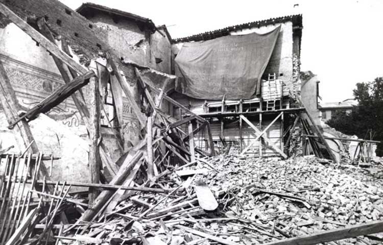 Santa Ceia Bombardeios Milao 1943