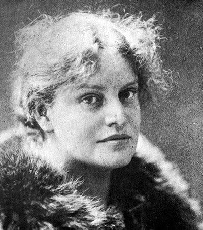 Lou Andreas-Salomé (San Petersburgo, 1861- Gotinga, 1937) en 1914, poco después de iniciarse en el psicoanálisis de la mano de Freud.