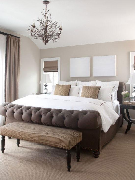 10 Brilliant Brown Bedroom Designs