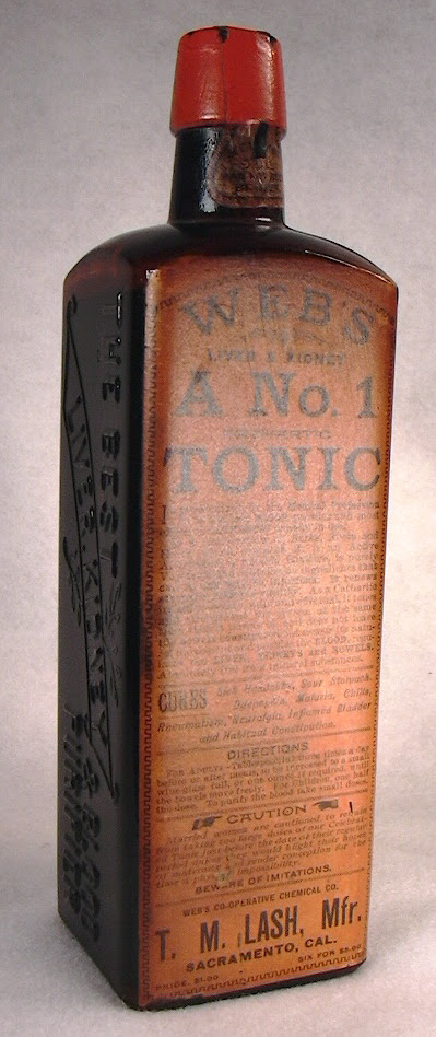 Medicinal Tonic Bottles For Sale Page