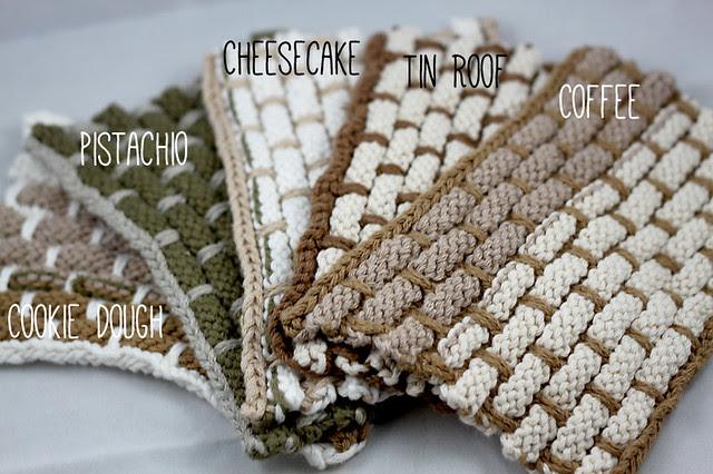 Organic Knit Washcloths