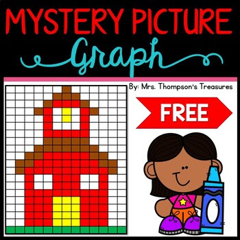 Back to School Mystery Picture Graph - Teacher