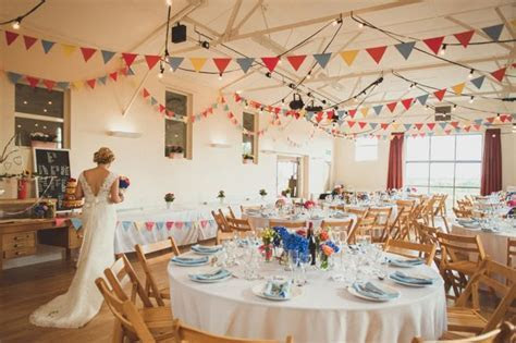A Charming and Colourful Village Hall Wedding in