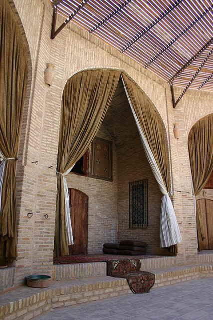 inside caravanserai