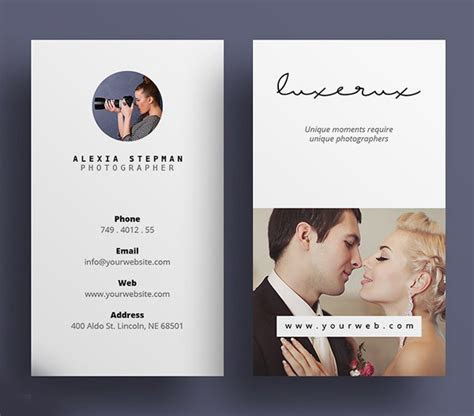 Creative Photography Business Cards   Design   Graphic
