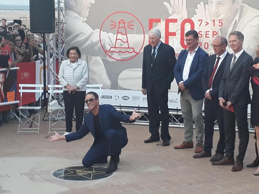 Jean Claude Vandamme Inaugure Son étoile Sur Le Walk Of