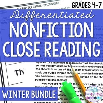 Close Reading Nonfiction Texts for Upper Elementary - Wint