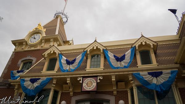 Disneyland Resort, Disneyland, Main Street U.S.A., Disneyland60, 60, Diamond, Celebration, Decor, Decoration, Bunting