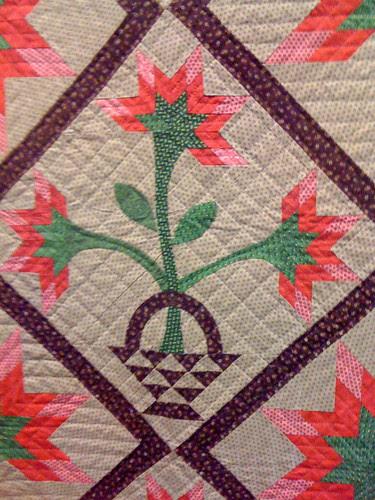Detail from Folk Art Lilies