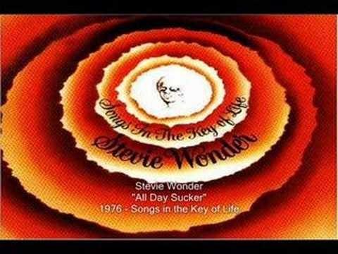 Stevie Wonder - All Day Sucker Lyrics