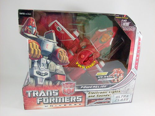 Transformers Powerglide Universe Ultra