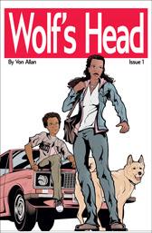 Wolf's Head Issue 1 cover by Von Allan