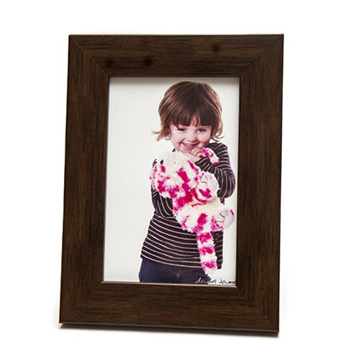 7x5 Brown Photo Frame Personalised Picture Frames