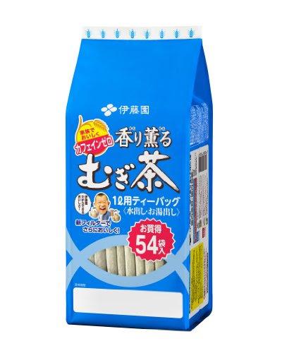 伊藤園 香り薫るむぎ茶ティーバッグ 54袋