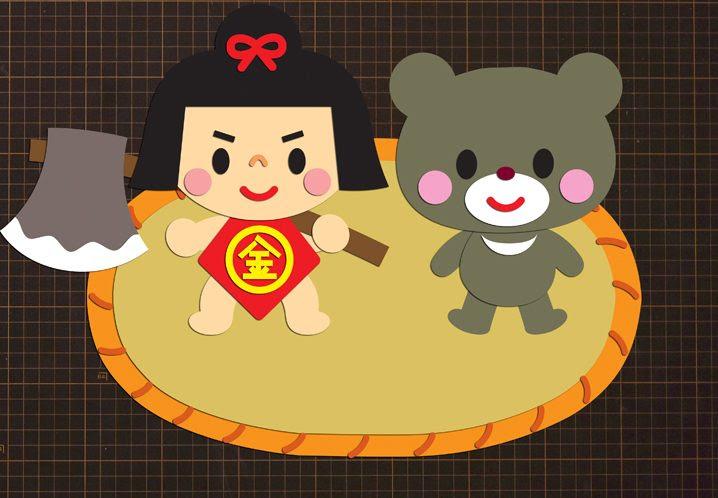 一年じゅう園を飾れる 折り紙で作る 千金美穂キャラクター