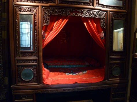 78  images about Ancient Chinese Wedding Beds on Pinterest