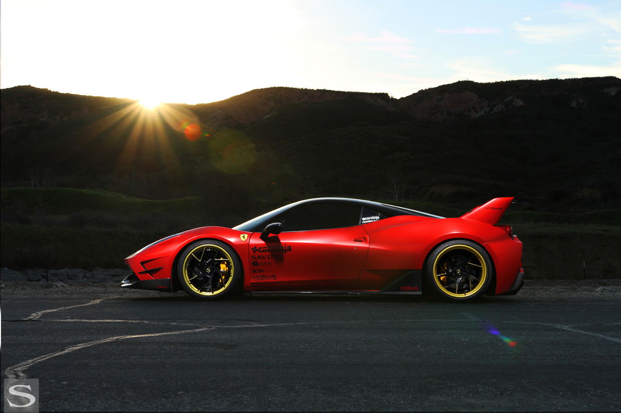 458 Italia - Savini Wheels