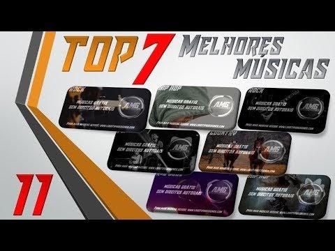 As 7 Melhores Músicas #11 Grátis free use Logo Tipo Designer