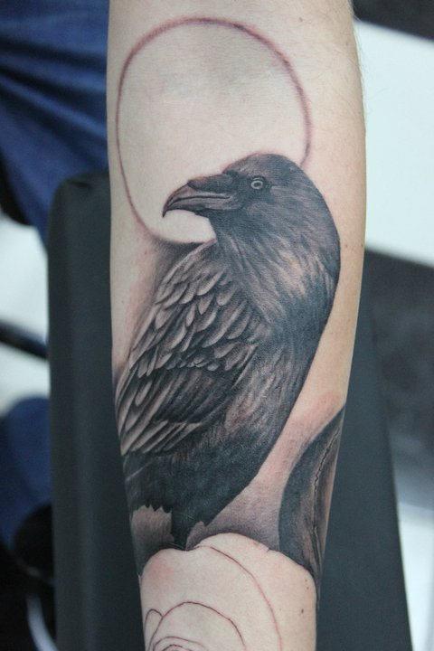 Tattooscom Absolutely Ravishing Crow And Raven Tattoos