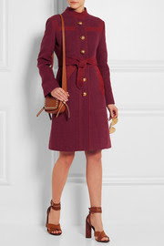 GucciEmbroidered linen coat