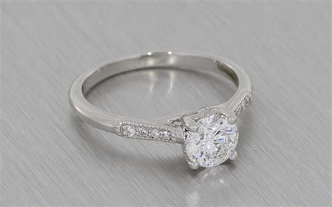 Scroll Engagement Ring   Portfolio   Durham Rose