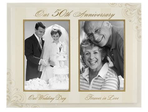 The Golden Years   50th Wedding Anniversary Gift Ideas for