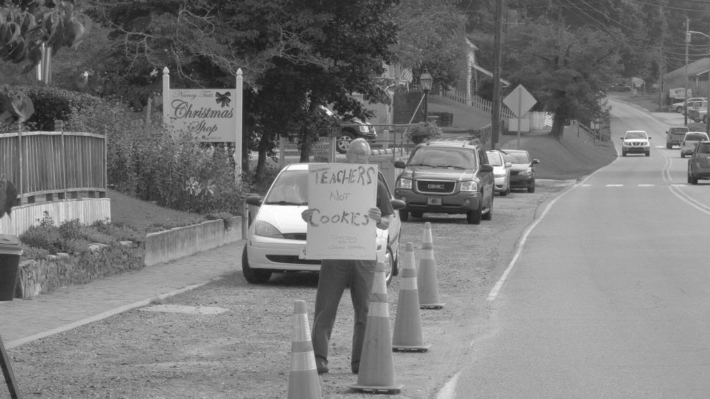 Lone Protestor ©2013 Bobby Coggins
