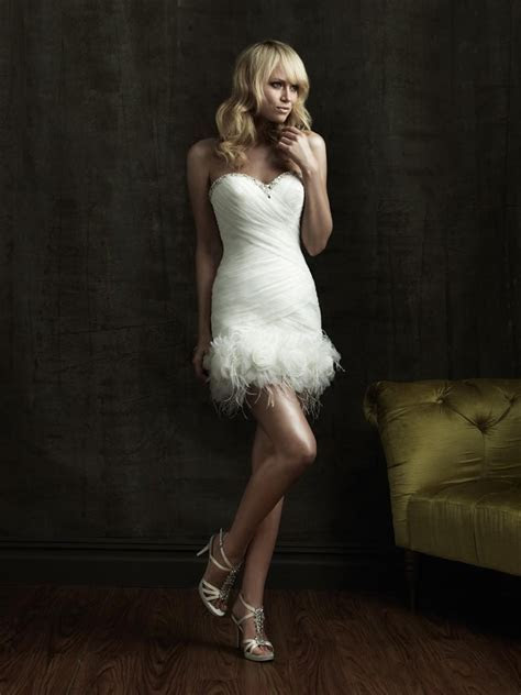 OK Wedding Gallery: Perfect short wedding dresses outdoor