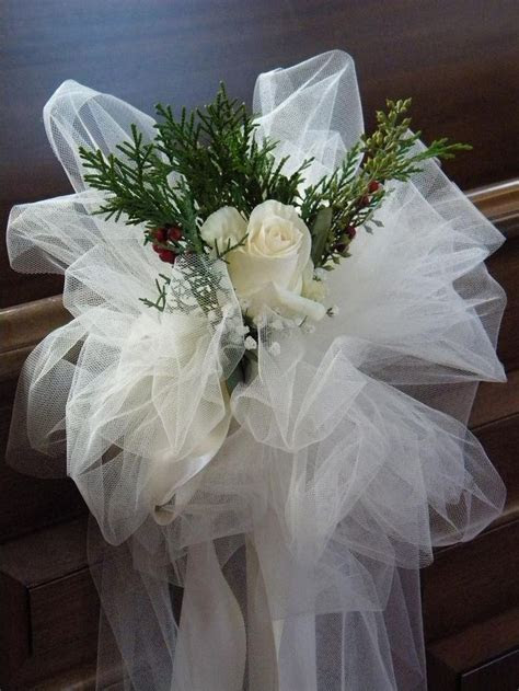 Best 25  Wedding pew decorations ideas on Pinterest