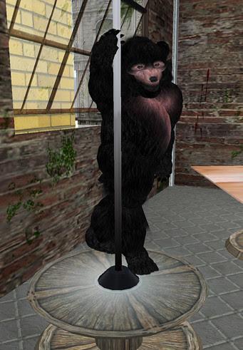 Stripper Bear