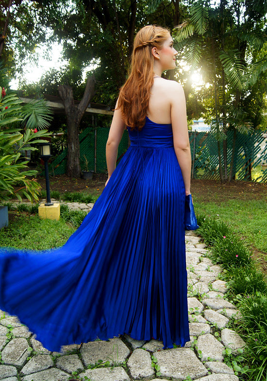 Pleated dress by The Joy of Fashion (9)