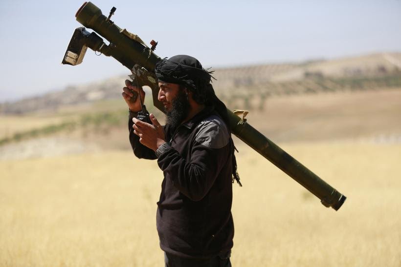 Al-Nusra fighter Syria