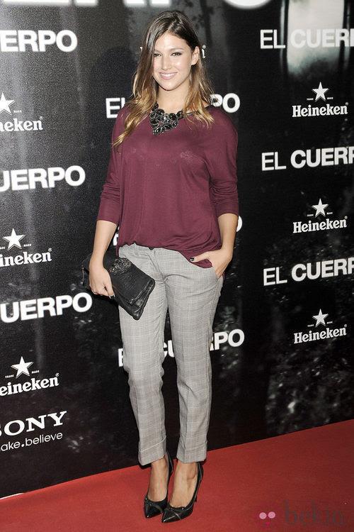 Úrsula Corberó en el estreno de 'El Cuerpo'
