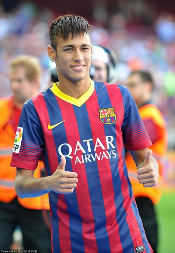 Neymar to wear No.11 for Barca - China.org.cn