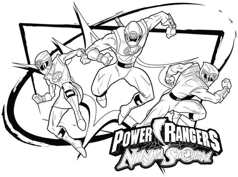 Power Ranger Coloring Pages - Bilscreen