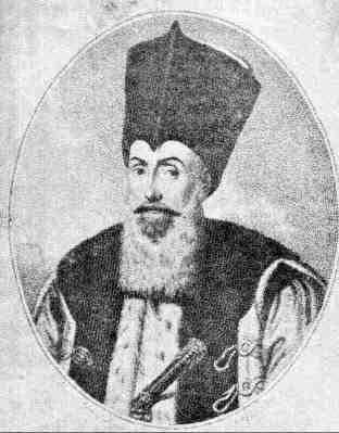 ΙΩΑΝΝΗΣ Γ. ΚΑΡΑΤΖΑΣ-Ηγεμών Βλαχίας-Ανεψιός του οικ. Πατριάρχη Ιωαννίκου.