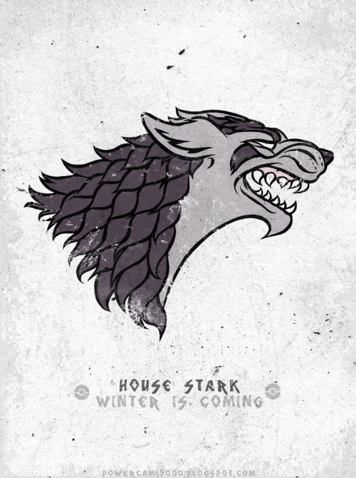 House Mightyena / Stark by Cami Sanders / posted by ianbrooks.me