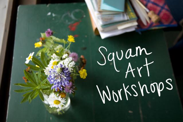 Squam Art Workshops