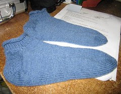 socks-first finished