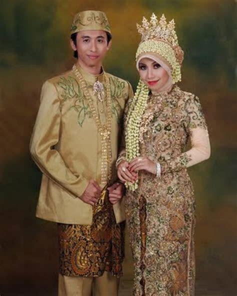 baju pengantin muslim  model kebaya pengantin modern