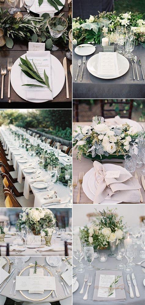 Top 15 So Elegant Wedding Table Setting Ideas for 2018