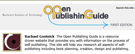 open publishing guide RIT book design self-publishing