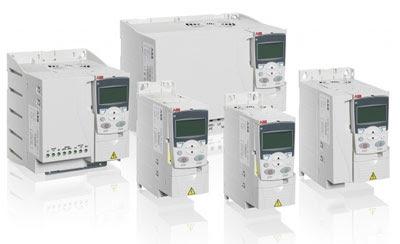 Convertidores de frecuencia ABB para maquinaria ACS355